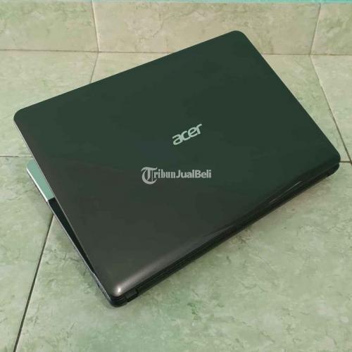 Laptop Acer E1 - 471G Core i3 Ram 4GB Bekas Fungsi Normal Garansi - Sleman