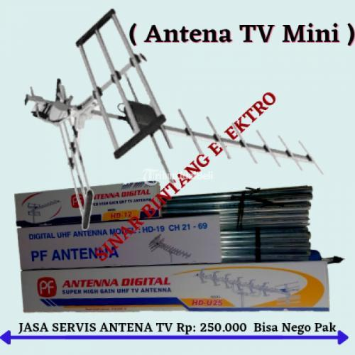 Pasang Baru Antena Tv Jakamulya di Bekasi Selatan - Bekasi