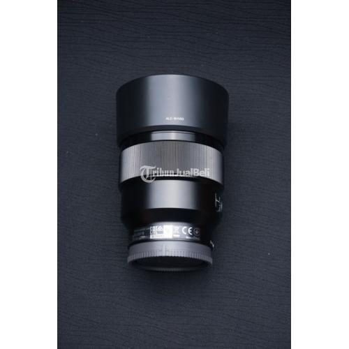 Lensa Sony FE 85mm F1.8 Like New Fullset Bekas Bebas Jamur - Solo