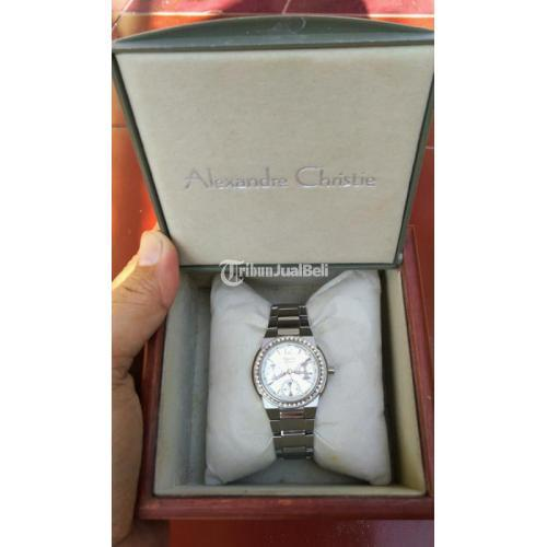 Jam Tangan Alexandre Christie Chronograph 2216 Bekas Fullset Box - Kudus