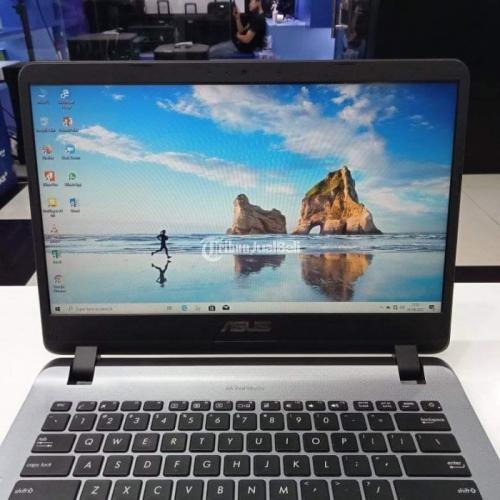 Laptop Asus Vivobook A407Ma Ram 4GB Windows 10 Original Bekas - Bandung