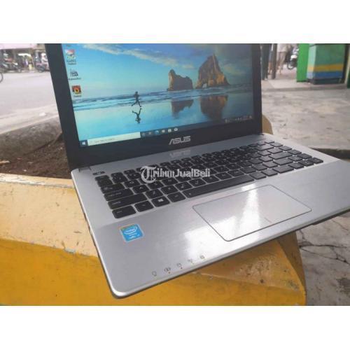Laptop Asus X450JN i7 Dual VGA Bekas Ram 8GB Hardisk 1TB Normal - Bandung