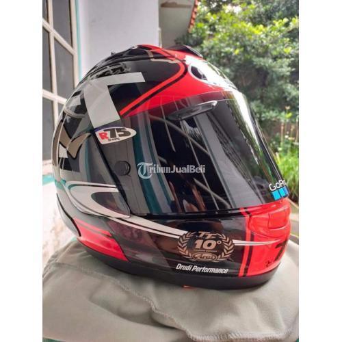 Helm Arai RX7X IOM 2018 Size M Diamond Coat Bekas Fullset- Bogor