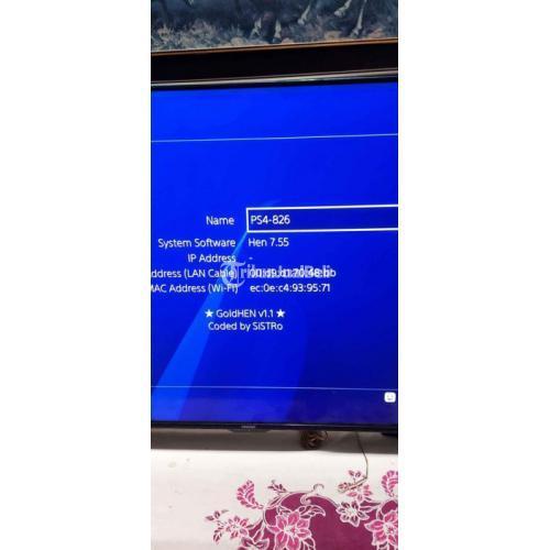 Konsol Game Sony PS4 Fat 1106A Hen7.55 Bekas Normal Harga - Depok