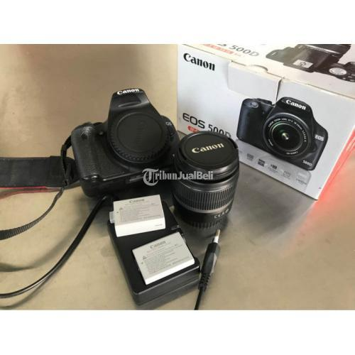 Kamera Canon 500D Feullset Bekas Kondisi Normal Garansi Bonus Baterai - Semarang