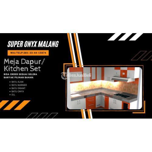 Jasa Pembuatan Meja Dapur Minimalis Sede - Malang