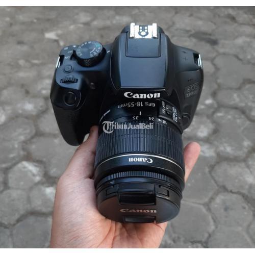 Kamera DSLR Canon 1300D Wifi Bekas Normal Harga Murah - Probolinggo