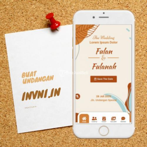 Jasa Undangan Digital Website Undangan Online - Jakarta Barat