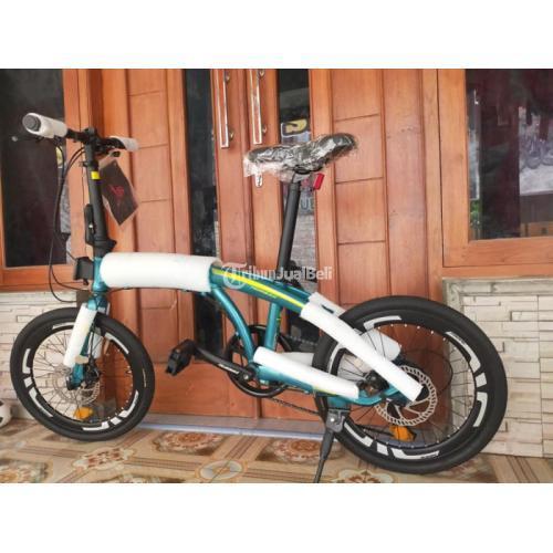 Sepeda Lipat Pacific Noris 2.0 Ukuran 20 Speed 8 Frame Alloy Baru - Jogja