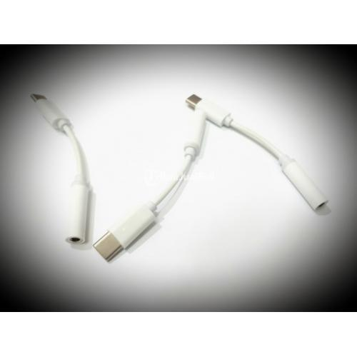 Sambungan Converter Jack Headset 3.5mm to Type C Jack USB Converter - Jakarta Pusat