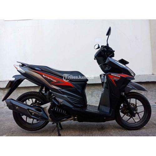 Motor Honda Vario 125 ISS Idling Stop 2015 Bekas Surat Lengkap Pajak On - Surabaya