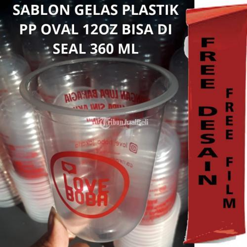 Sablon Gelas Plastik Jelambar Pemesanan BerbagaiUkuran - Jakarta Barat