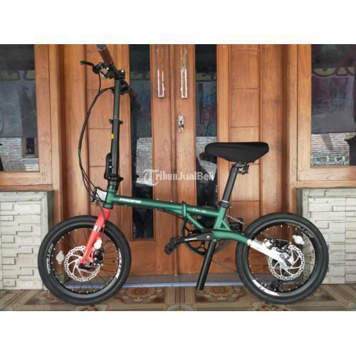 Sepeda Lipat Pacific Flux 3.5 Uk 16 Speed 8 Bekas Like New Normal - Jogja