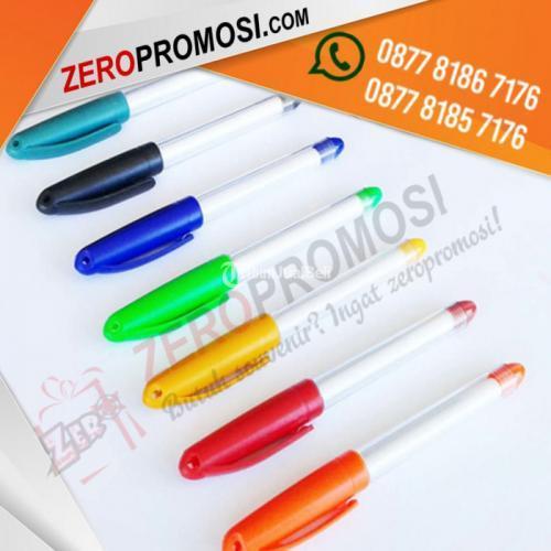 Souvenir Pen Aktif Gel Pen Promosi Insert Paper - Tangerang