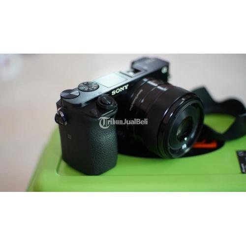 Kamera Sony A6000 Lensa 35mm f1.8 OSS Fullset Mulus Bersih Bekas - Jogja