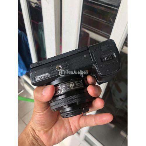 Kamera Mirrorless Sony A6300 Kit 16-50 Baterai Kingma Fullset Bekas Normal - Jogja