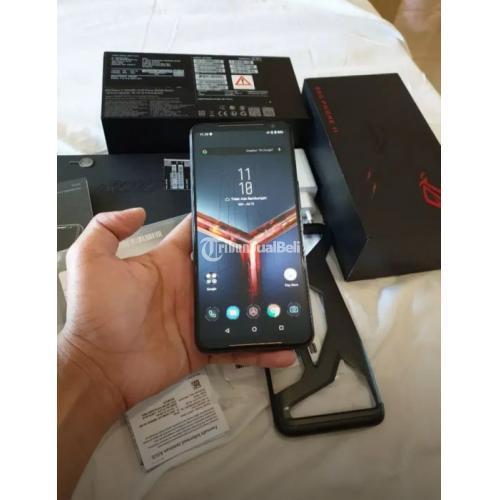 HP Gaming Asus ROG Phone 2 8/128GB Bekas Fullset Normal - Tangerang
