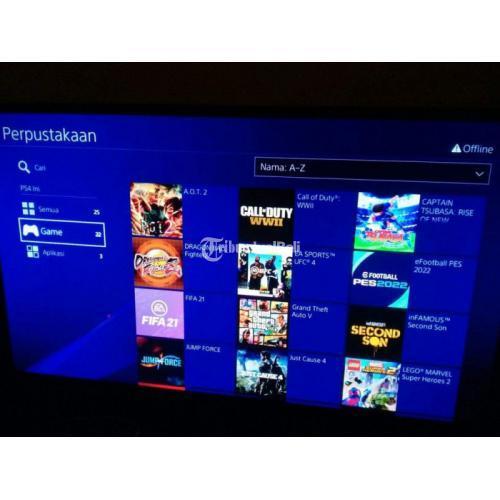 Konsol Game Sony PS4 HEN 1TB 6.72 Second Like New Fullset Normal - Mojokerto