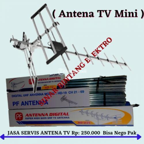 Jasa Pasang Antena TV Agen Pelaksana Pemasangan Ciputat - Tangerang Selatan