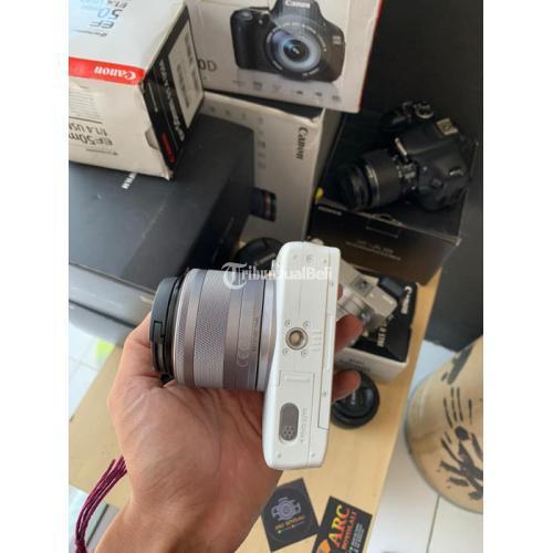 Kamera Mirrorless Canon M10 Fullsetbox Bekas Mulus Normal Harga Nego - Boyolali