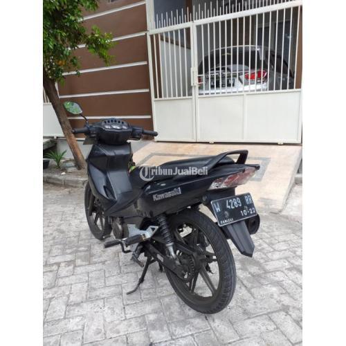 Motor Bebek Kawasaki ZX 2005 Bekas Kondisi Normal Surat Lengkap - Surabaya