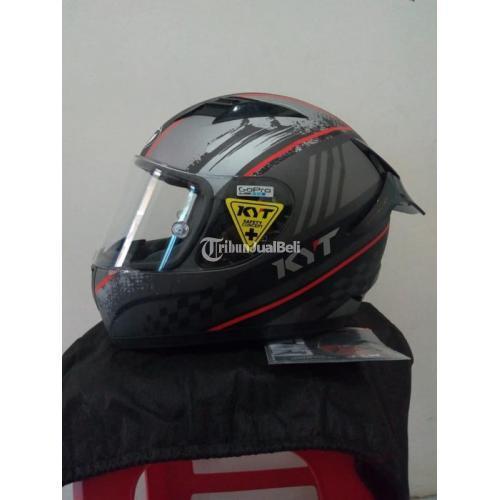 Helm KYT R10 Size M Visor Flat Clear Ori Bekas Mulus Like New - Malang