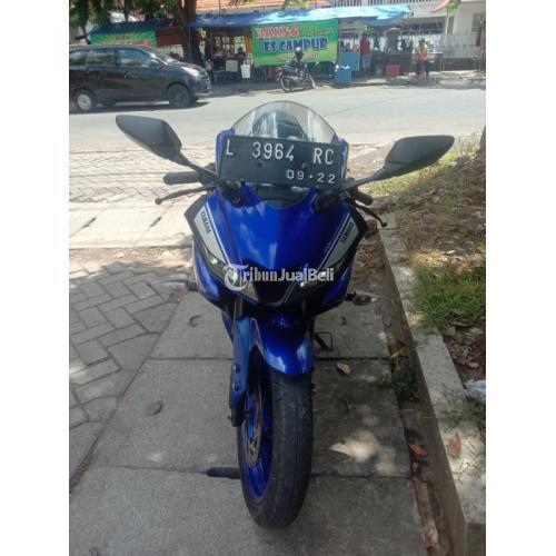 Motor Yamaha R15 V3 2017 Bekas Surat Lengkap Pajak Hidup Normal - Surabaya