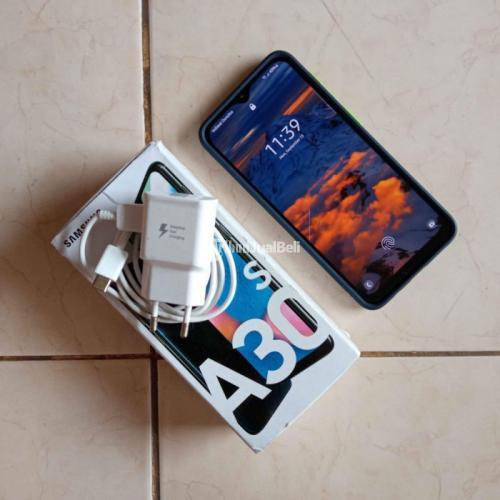 HP Samsung A30sRam 4/64GB Dual Sim Bekas Fullset Mulus No Minus - Bandung
