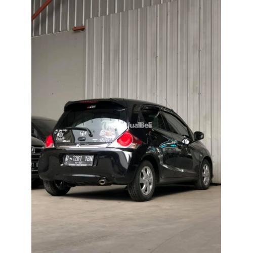 Mobil Honda Brio Type E MT 2017 Hitam Bekas Kondisi Normal Nego - Bandung