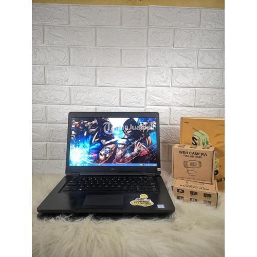 Laptop Dell Latitude 5480 RAM 8GB Core i5-6200U 2.4GHz Bekas Normal - Bandung
