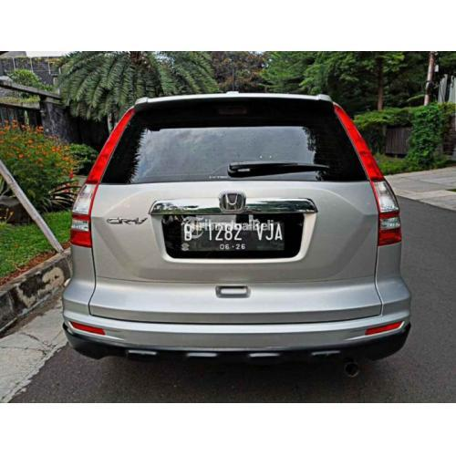 Mobil Honda Crv 2.0 Manual 2011 Silver Bekas Surat Lengkap Pajak Panjang - Jakarta
