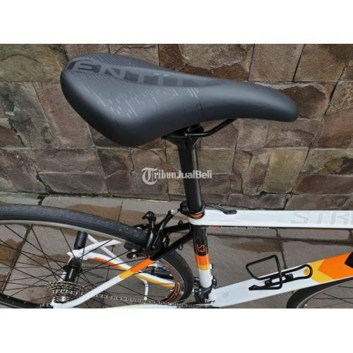Sepeda Polygon Strattos S3 2021 Bekas Full Standar Normal Like New - Tangerang