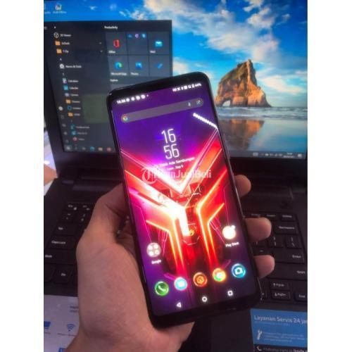 HP Asus ROG Phone 3 Ram 8/128GB Fullset Bekas Mulus No Minus - Solo