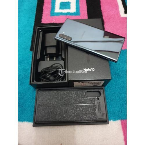 HP Samsung Note 10 8/256GB Black Resmi SEIN Bekas Normal - Jakarta