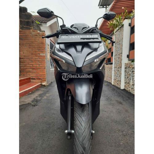 Motor Honda Vario 150 Keyless New LED 2021 Black Matte Bekas Normal - Bekasi
