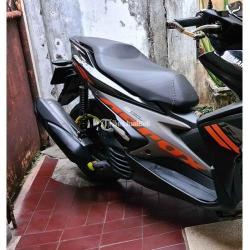 Motor Yamaha Aerox Htm 2018 Full Orisinil Bekas Mulus Surat Lengkap - Jakarta