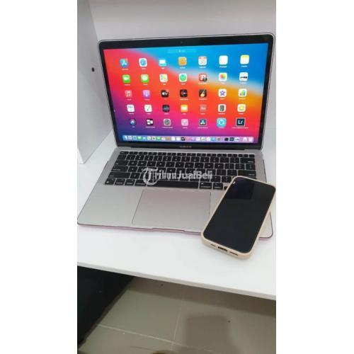 Laptop Macbook Air M1 Garansi iBox Bekas Like New Mulus Fullset Original - Jakarta