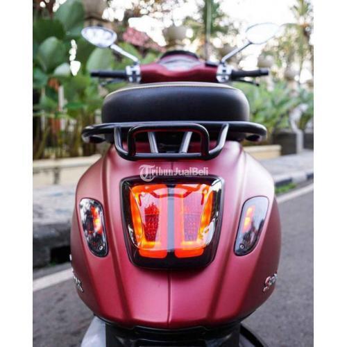 Motor Vespa Sprint Iget 2017 Bekas Surat Lengkap Standar Normal - Bogor