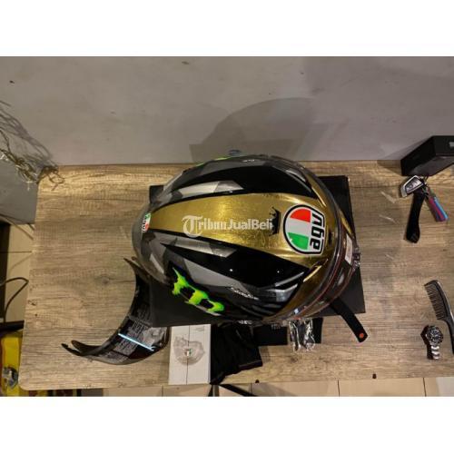 Helm Fullface AGV PISTA GPRR 1:1 Repaint Joanmir Fullcustom Bekas Like New - Depok