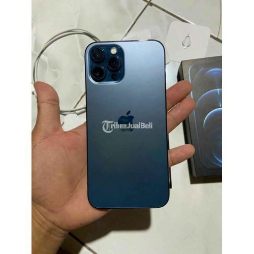 HP iPhone 12 Pro Max 128GB Bekas Like New Fullset Original - Semarang
