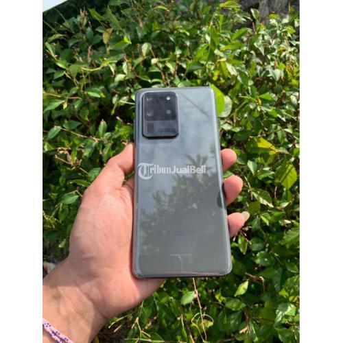 HP Samsung S20 Ultra 12/128GB SEIN Bekas Like New Fullset Mulus - Semarang