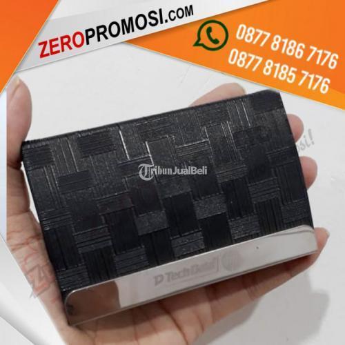 Barang Promosi Souvenir Kotak Kartu Nama NC836-5 Custom Logo - Tangerang