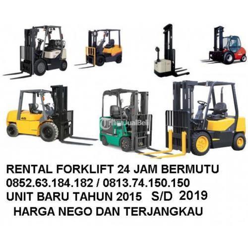 SEWA/RENTAL FORKLIFT DUREN SAWIT, CAKUNG, PASAR REBO, CIRACAS - Jakarta Timur