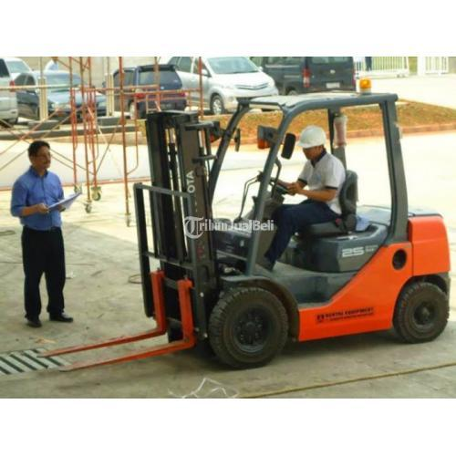 Sewa/ Rental Forklift PEJATEN, PASAR MINGGU, LEBAK BULUS, KEBAGUSAN - Jakarta Selatan