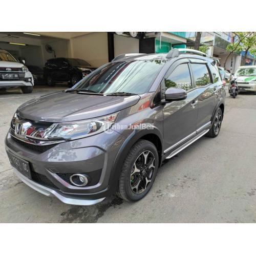 Mobil Honda BR-V 1.5 AT 2017 Low KM Bekas Pajak On Body Mulu - Surabaya