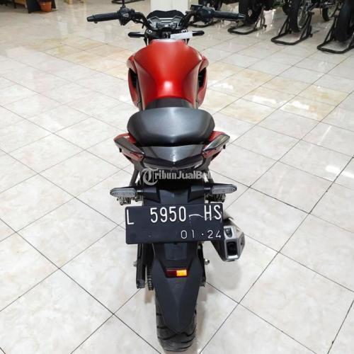 Motor Honda New CB 150 Street Fire 2019 Merah Bekas Normal Mulus - Surabaya