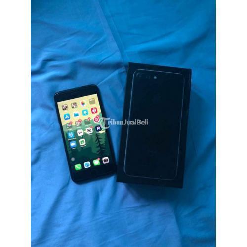 HP iPhone 7 Plus 125GB Fullset Bekas Fungsi Normal Harga Nego - Yogyakarta