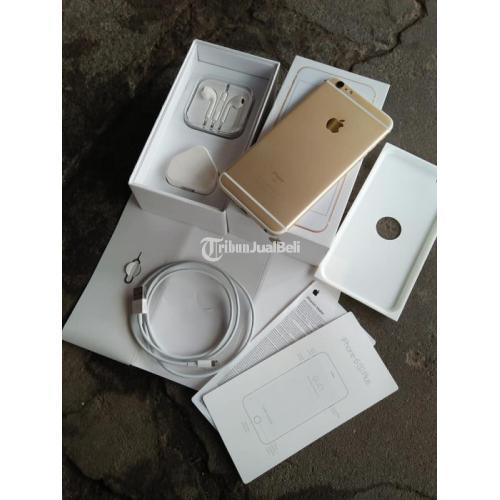 HP iPhone 6s Plus 64GB Fullset Gold Baterai 98% Bekas Normal Mulus - Bantul