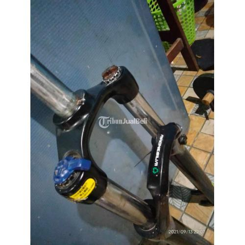 Sepeda MTB Thrill Oust Bekas Upgrade Kondisi Normal Siap Pakai - Bogor