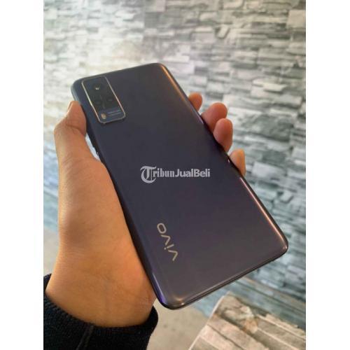 HP Vivo Y53s Ram 8/128GB Blue Fullset Bekas Mulus Garansi Resmi - Denpasar
